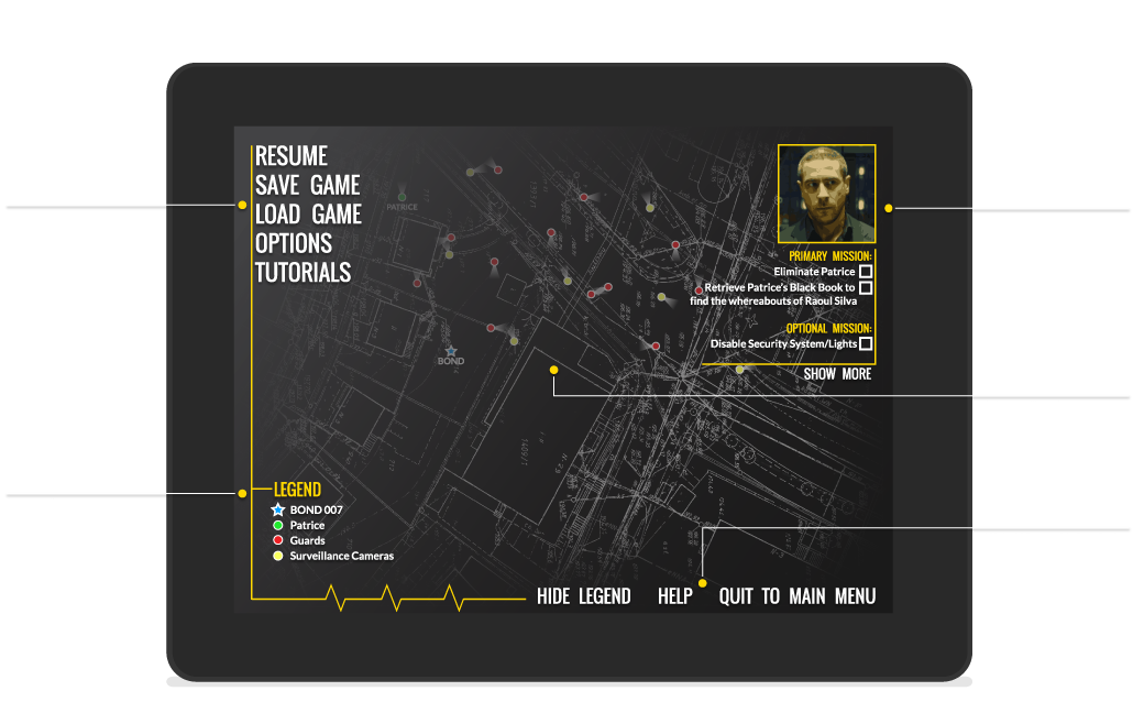 Pause Menu – Screenshot