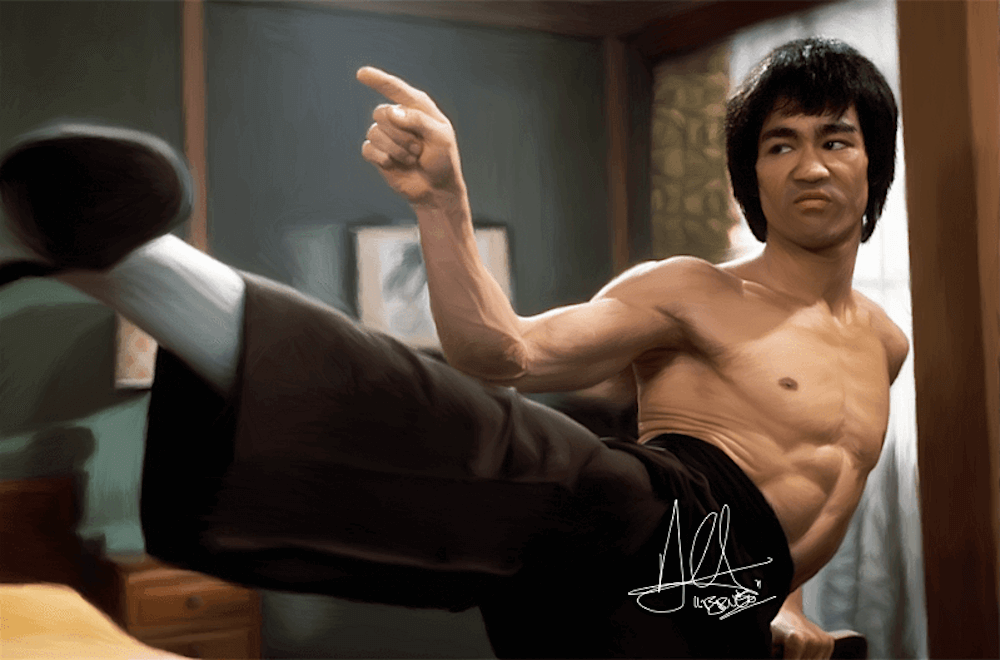 Bruce Lee (Enter The Dragon)