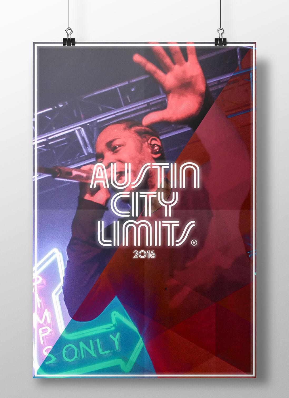 Austin City Limits 2016 Posters