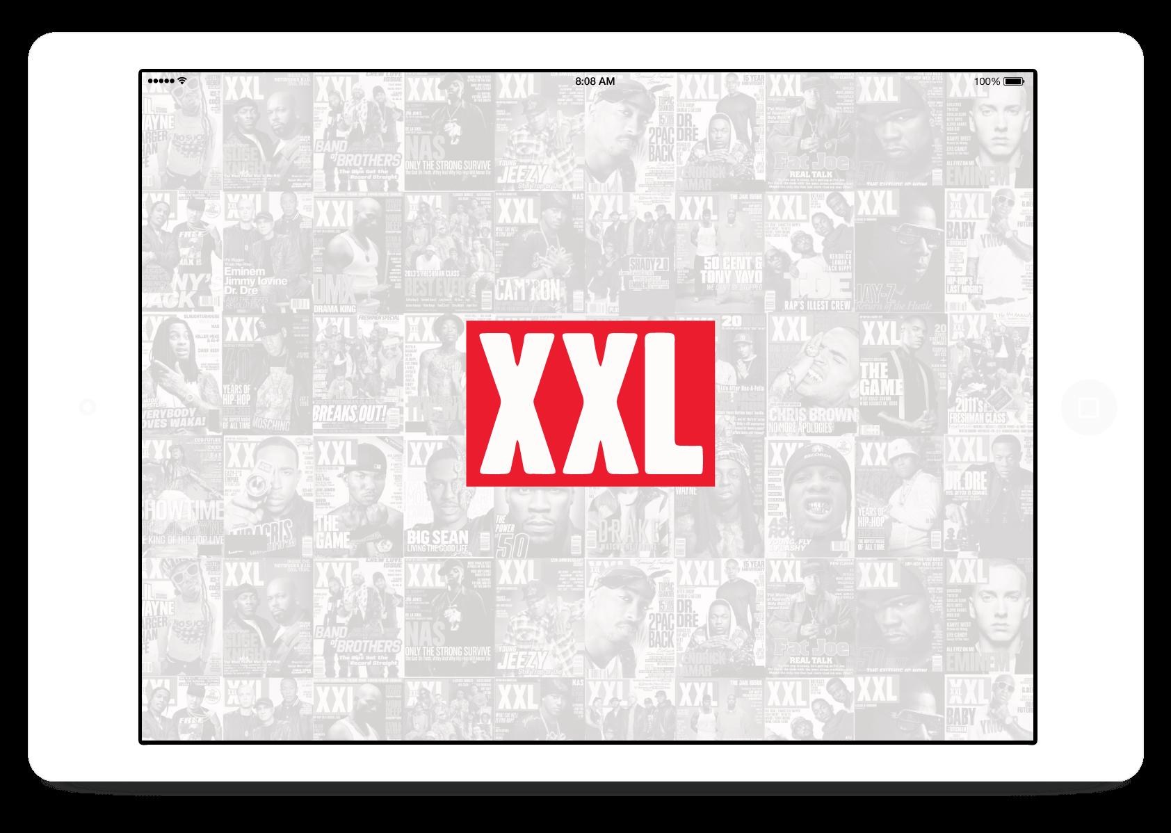 XXL Magazine UI