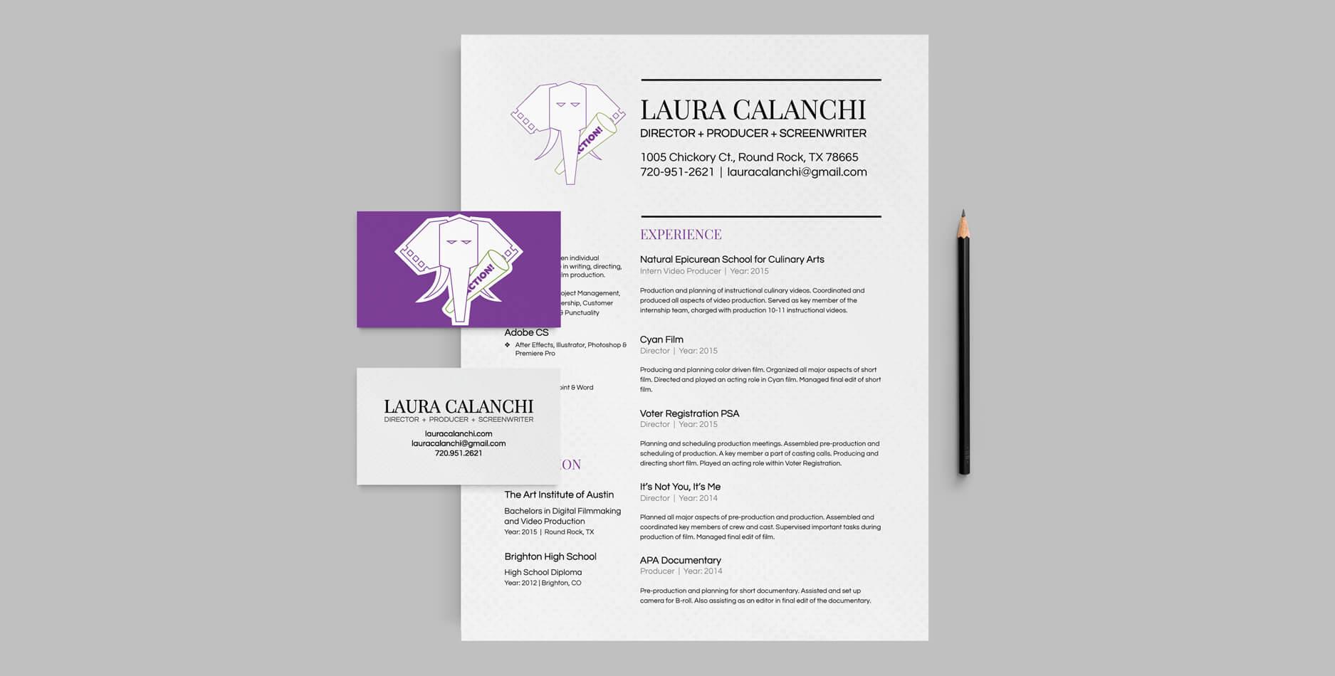 Laura Calanchi - Visual Identity